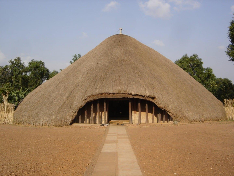 Sitio de la UNESCO Tumbas de Kasubi Kampala Uganda