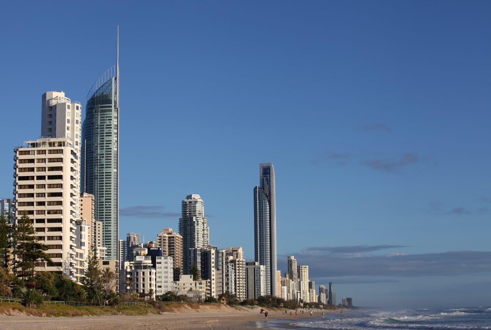 Skyline de Surfers Paradise, Gold Coast Gold Coast Australia