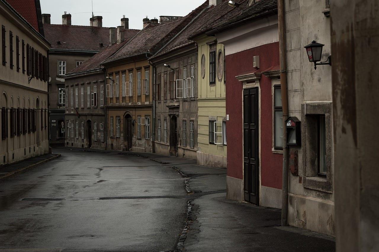 Sopron Hungría Calle Hungría