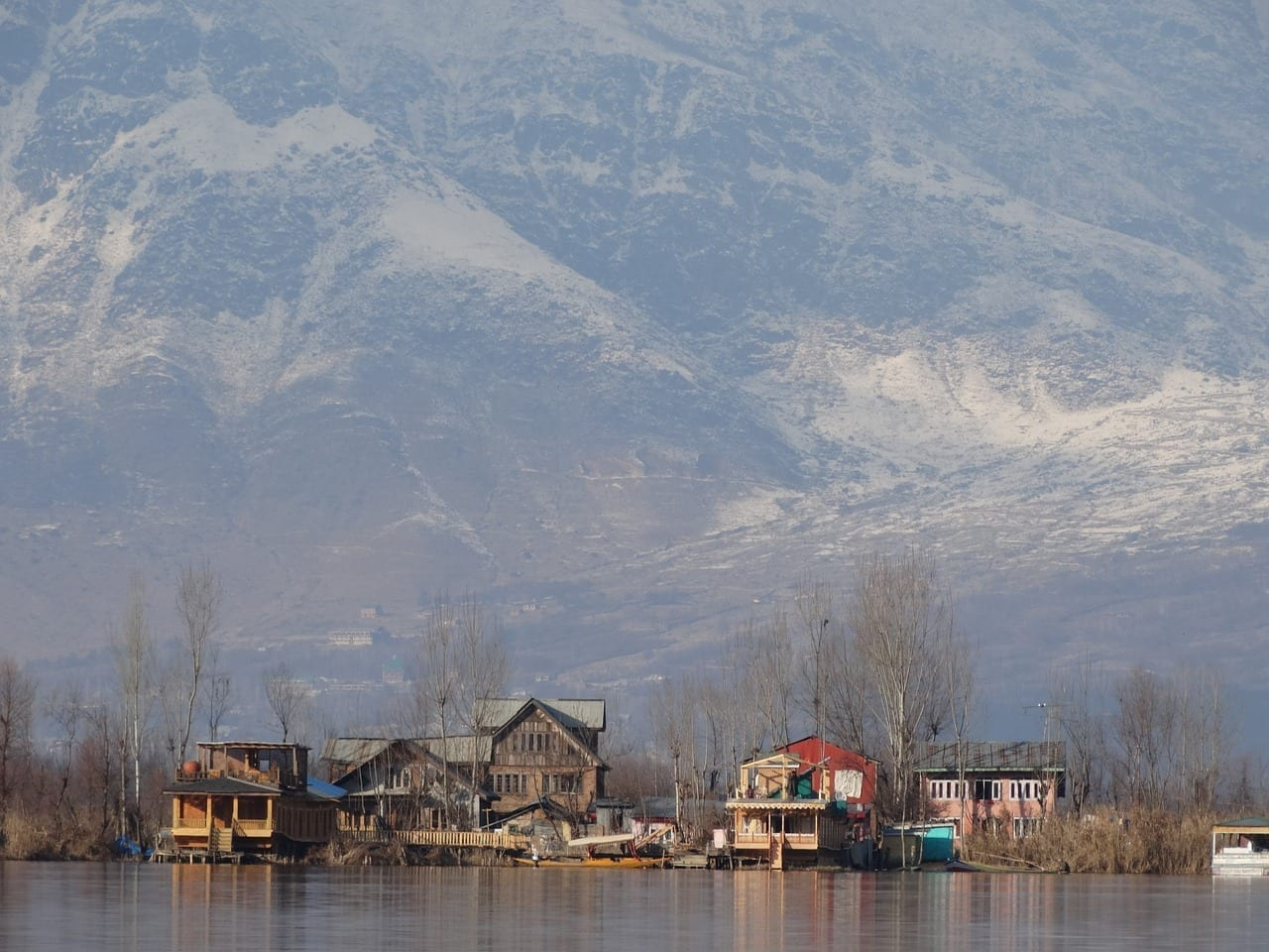 Srinagar Montaña Snow India