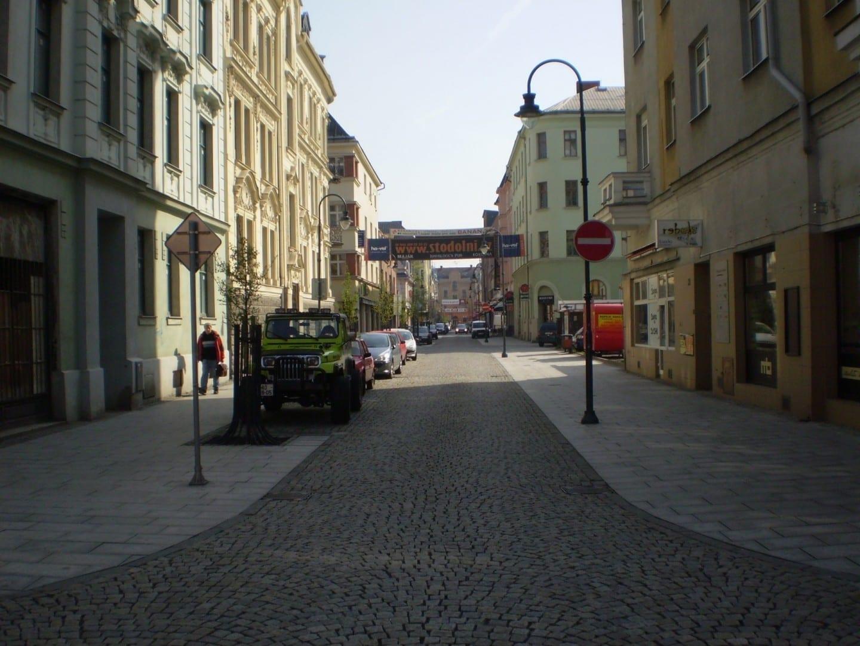 Stodolní, la calle principal de Ostrava Ostrava República Checa