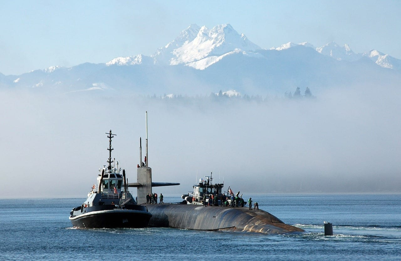Submarino Bangor Washington Estados Unidos