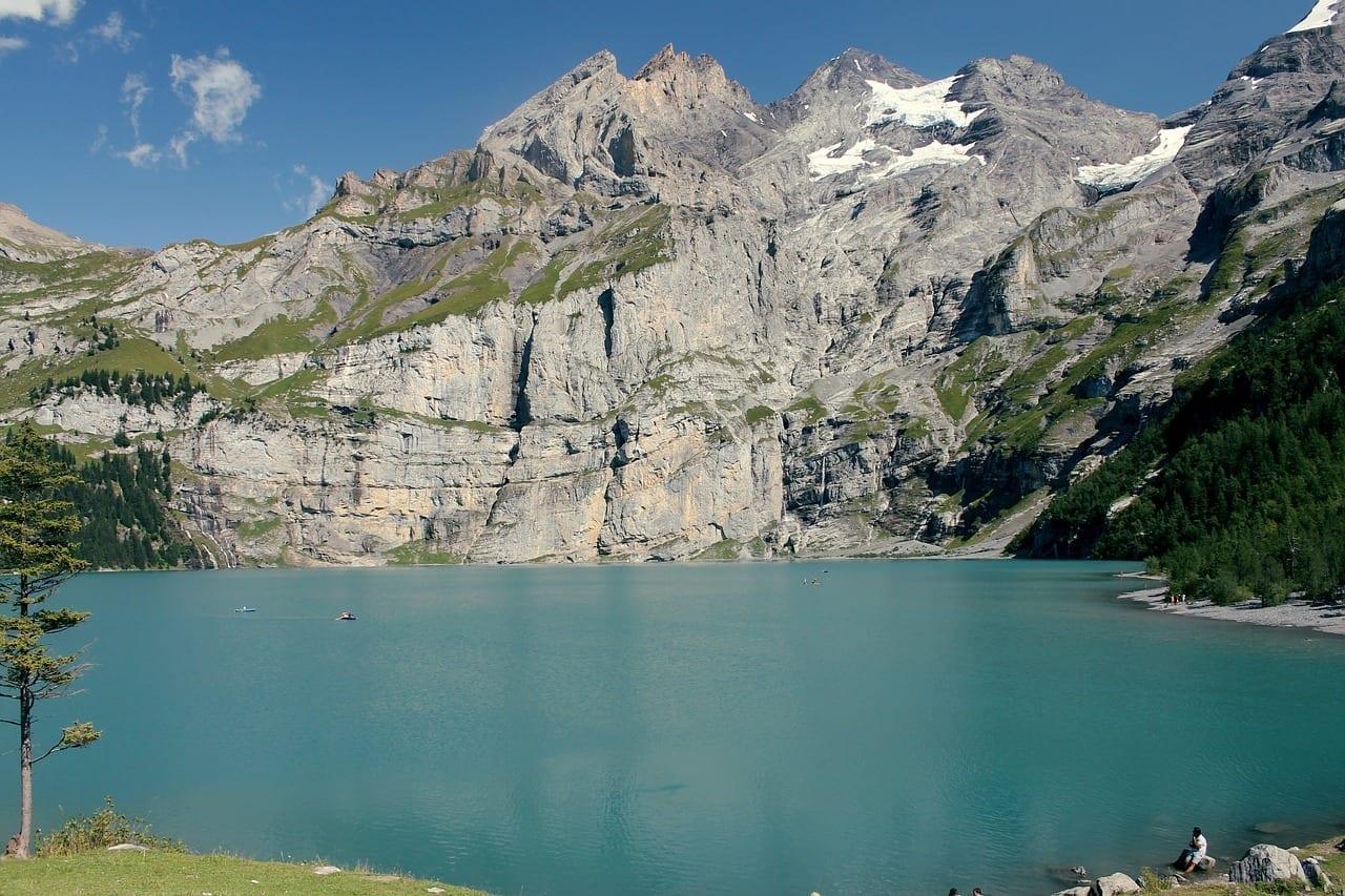 Suiza Lago Oeschinen Kandersteg Suiza