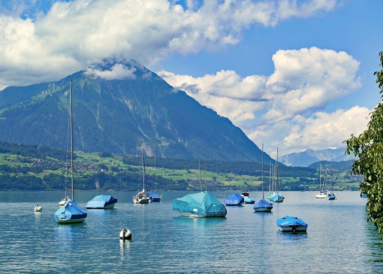 Suiza Thun Montaña Suiza