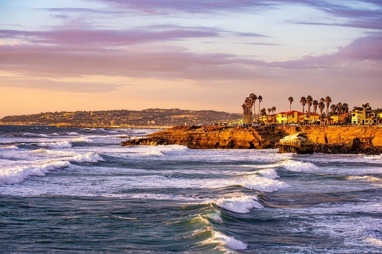 Sunset Cliffs San Diego Cali Colombia
