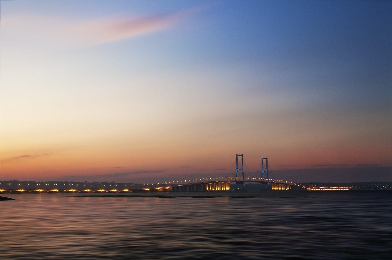 Surabaya Puente Suramadu Indonesia
