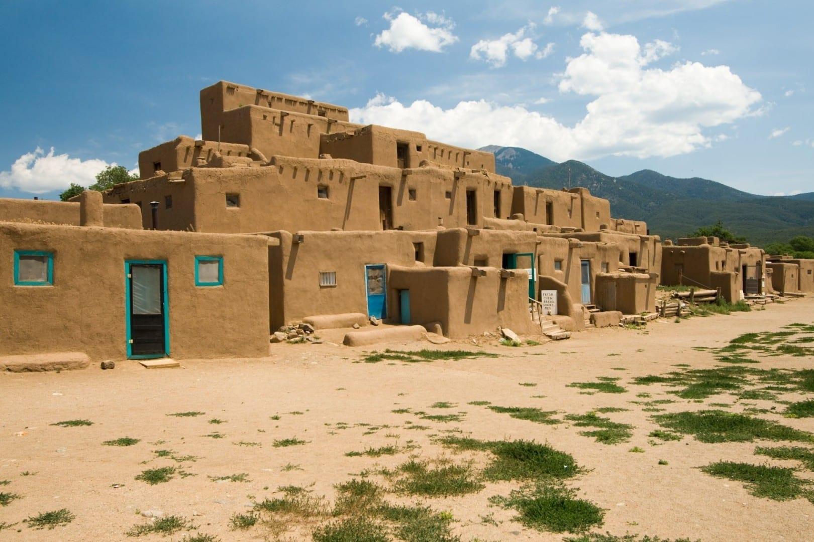Taos Pueblo Taos NM Estados Unidos