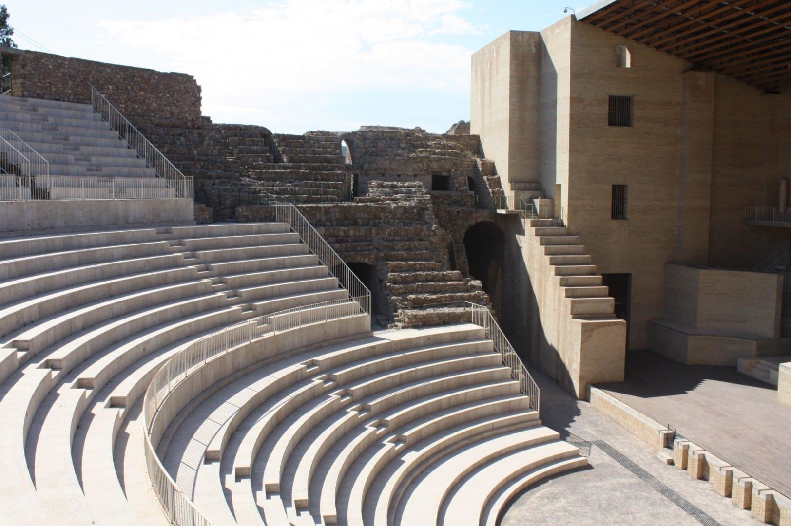 Teatre Romà Puerto de Sagunto España
