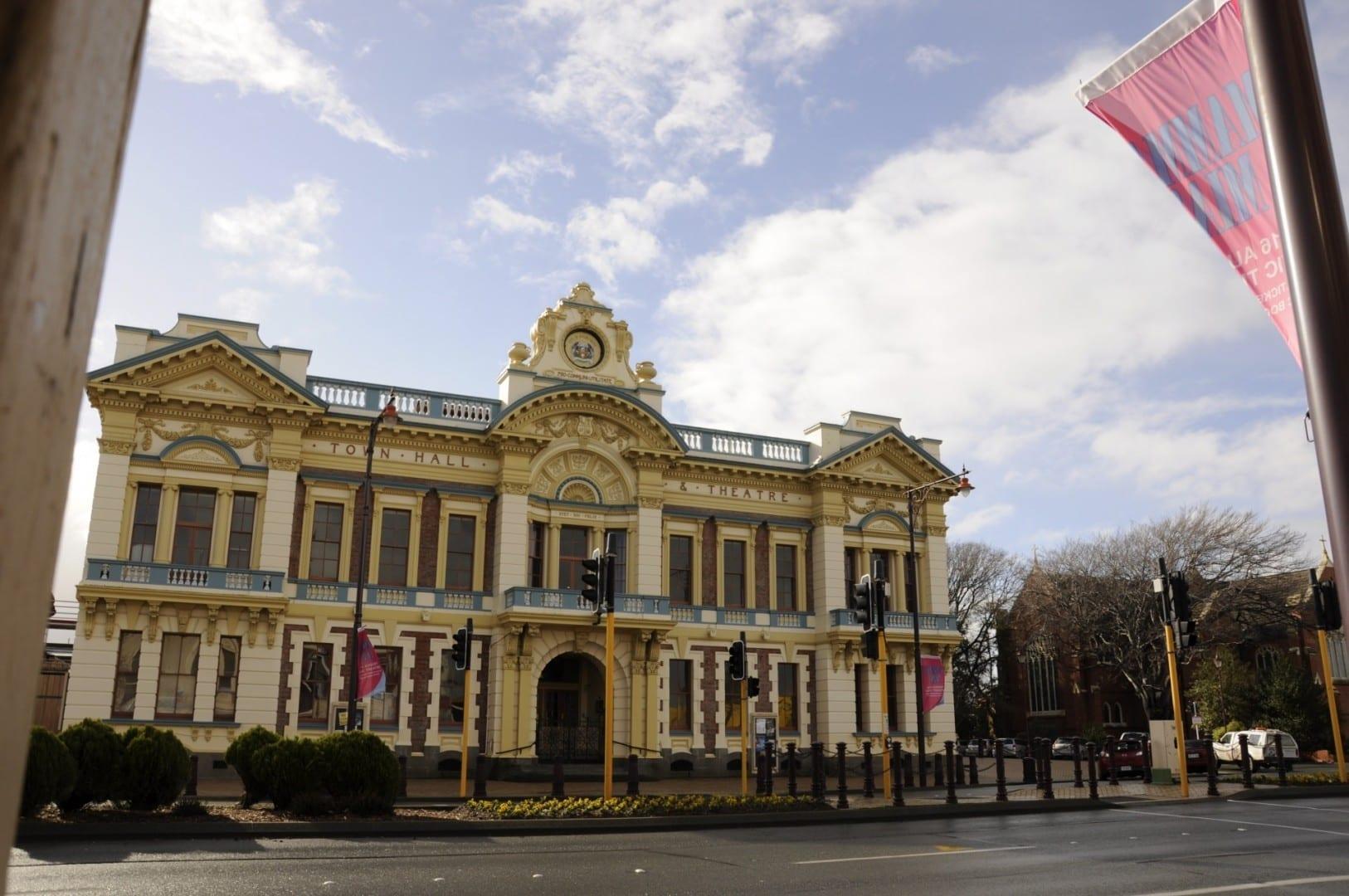Teatro Cívico Invercargill Nueva Zelanda