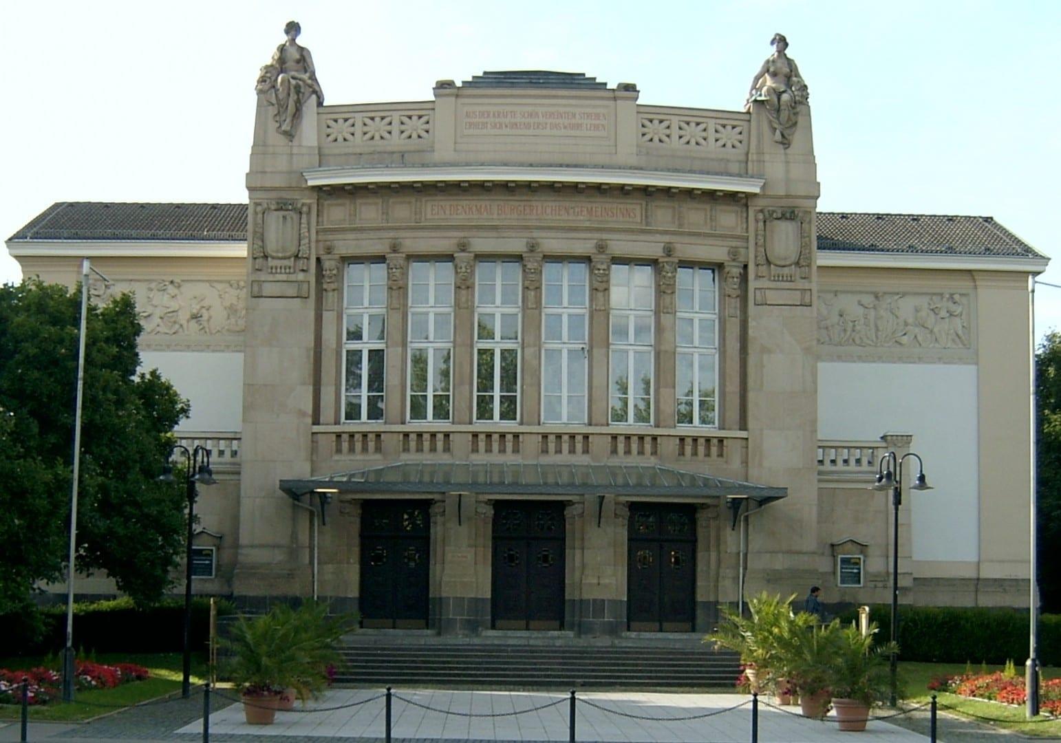 Teatro de Giessen Giessen Alemania