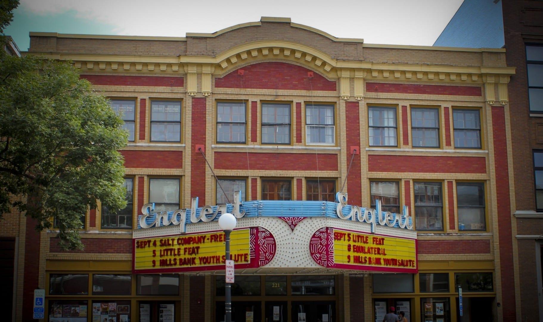 Teatro Englert Iowa City IA Estados Unidos