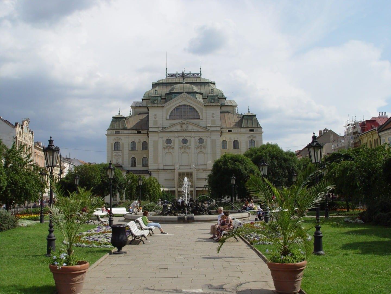 Teatro Estatal Koesice Košice República Eslovaca