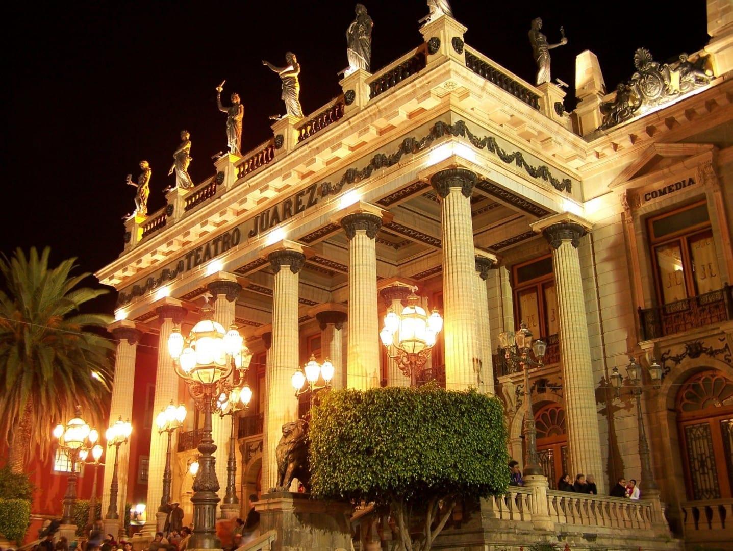 Teatro Juárez Guanajuato México