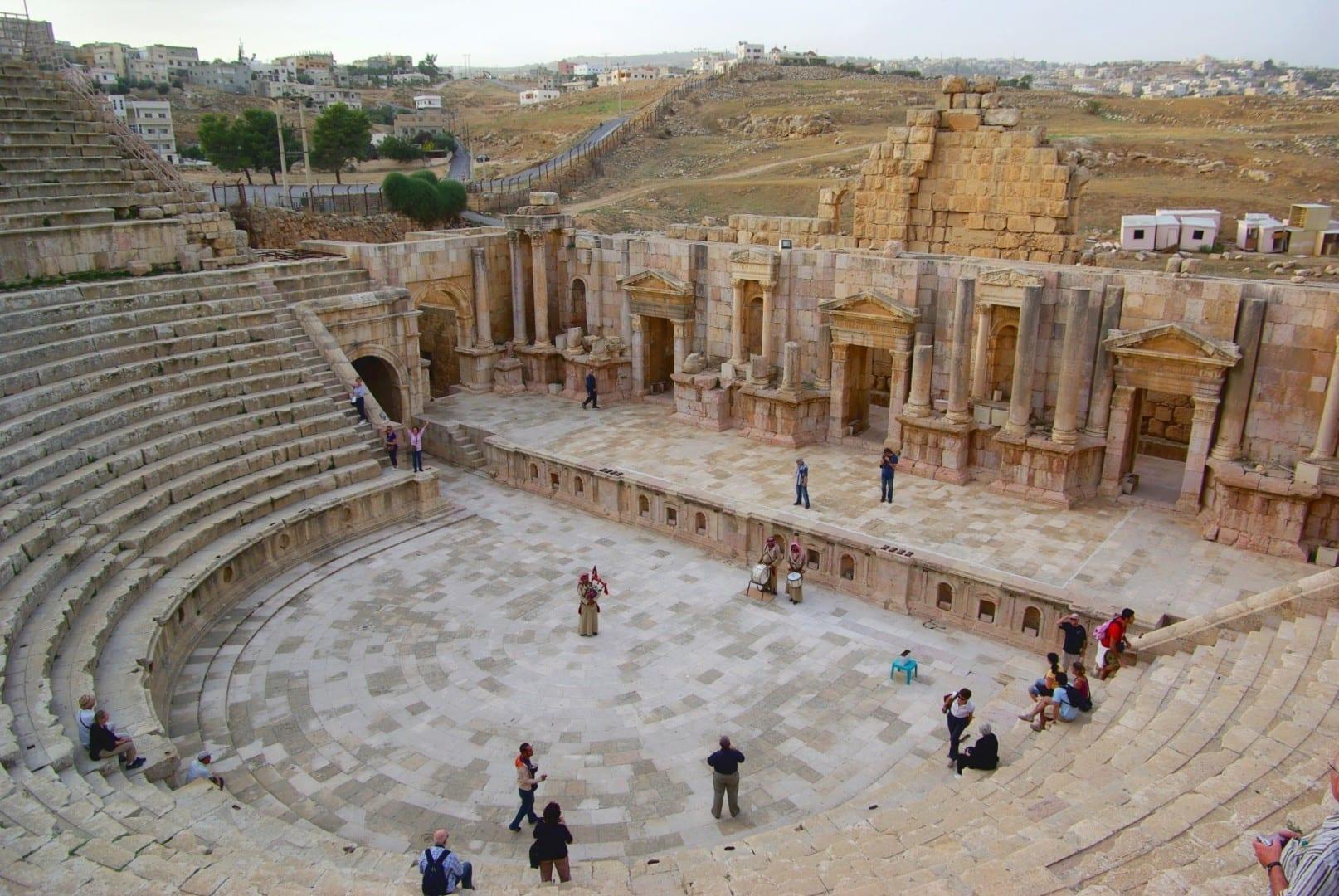 Teatro Sur Jerash Jordania
