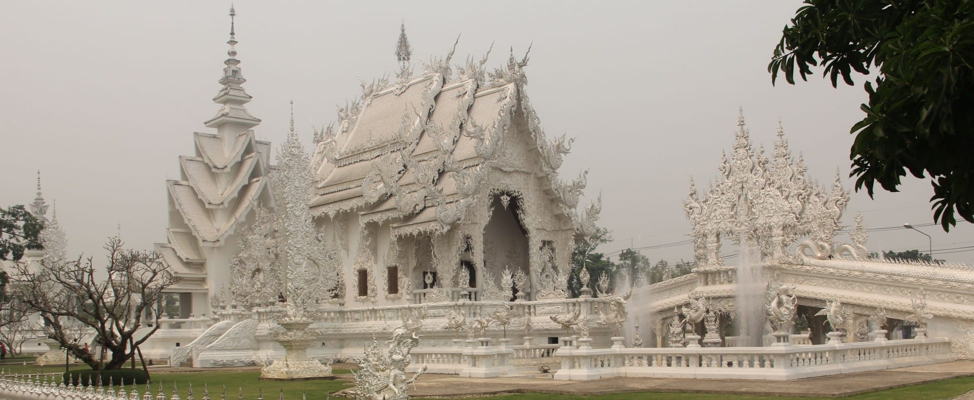 Templo Blanco Chiang Rai Tailandia