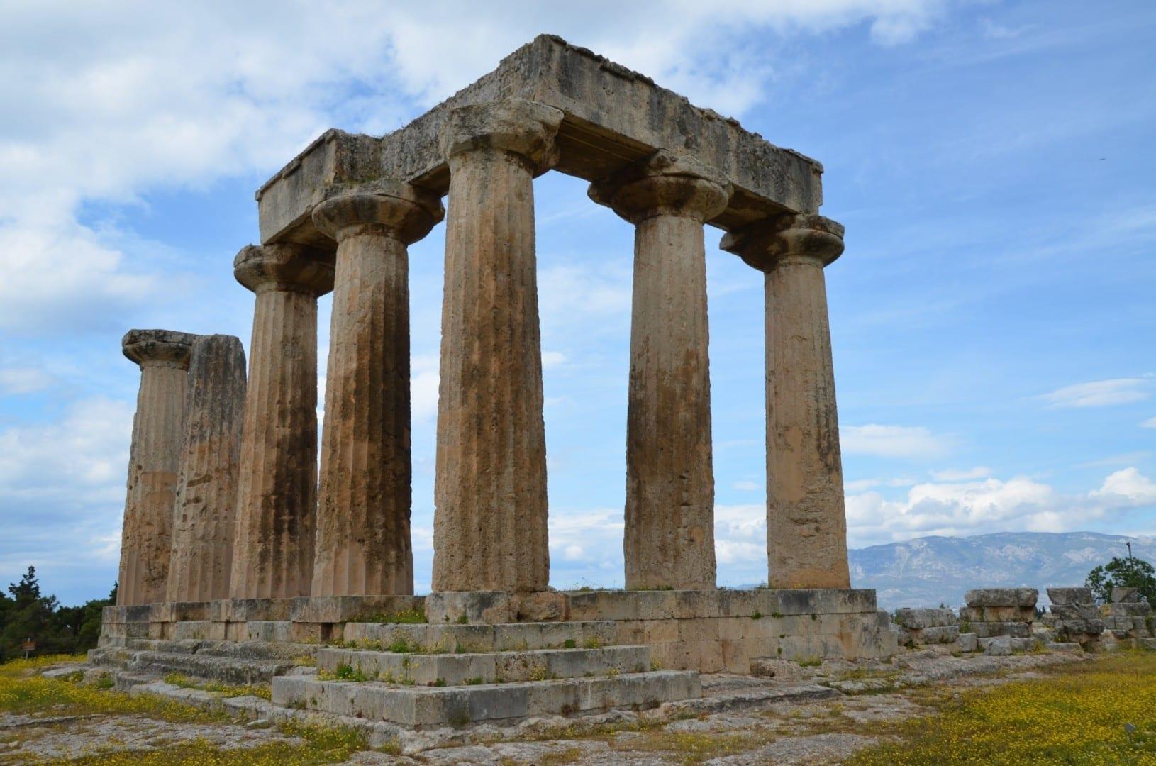 Templo de Apolo Corinto Grecia