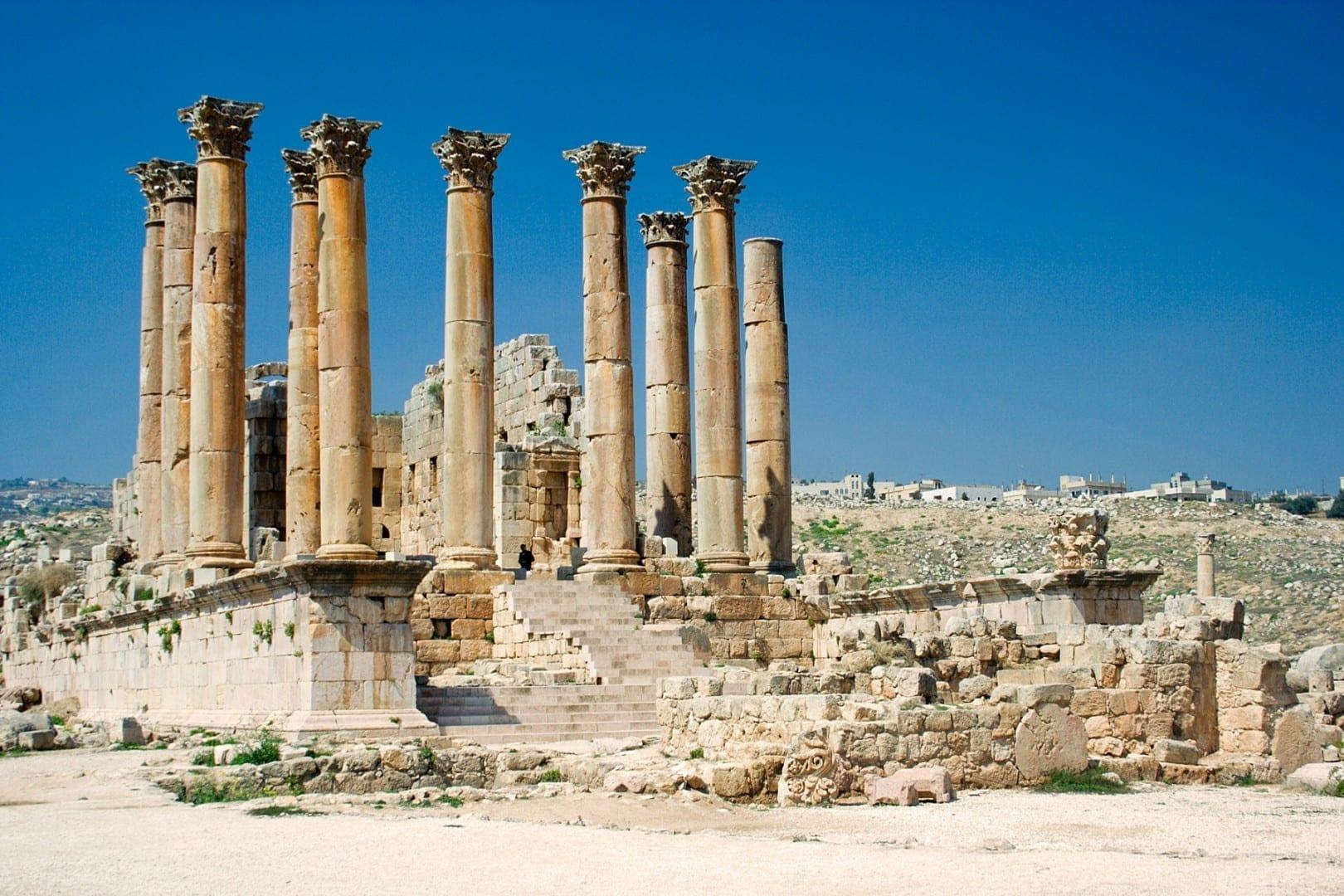 Templo de Artemisa Jerash Jordania