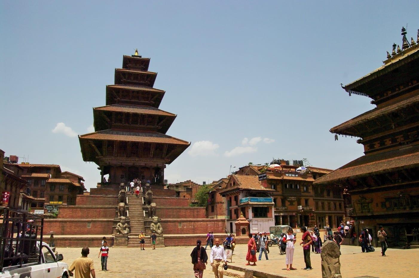 Templo de Nyataponla Bhaktapur Nepal