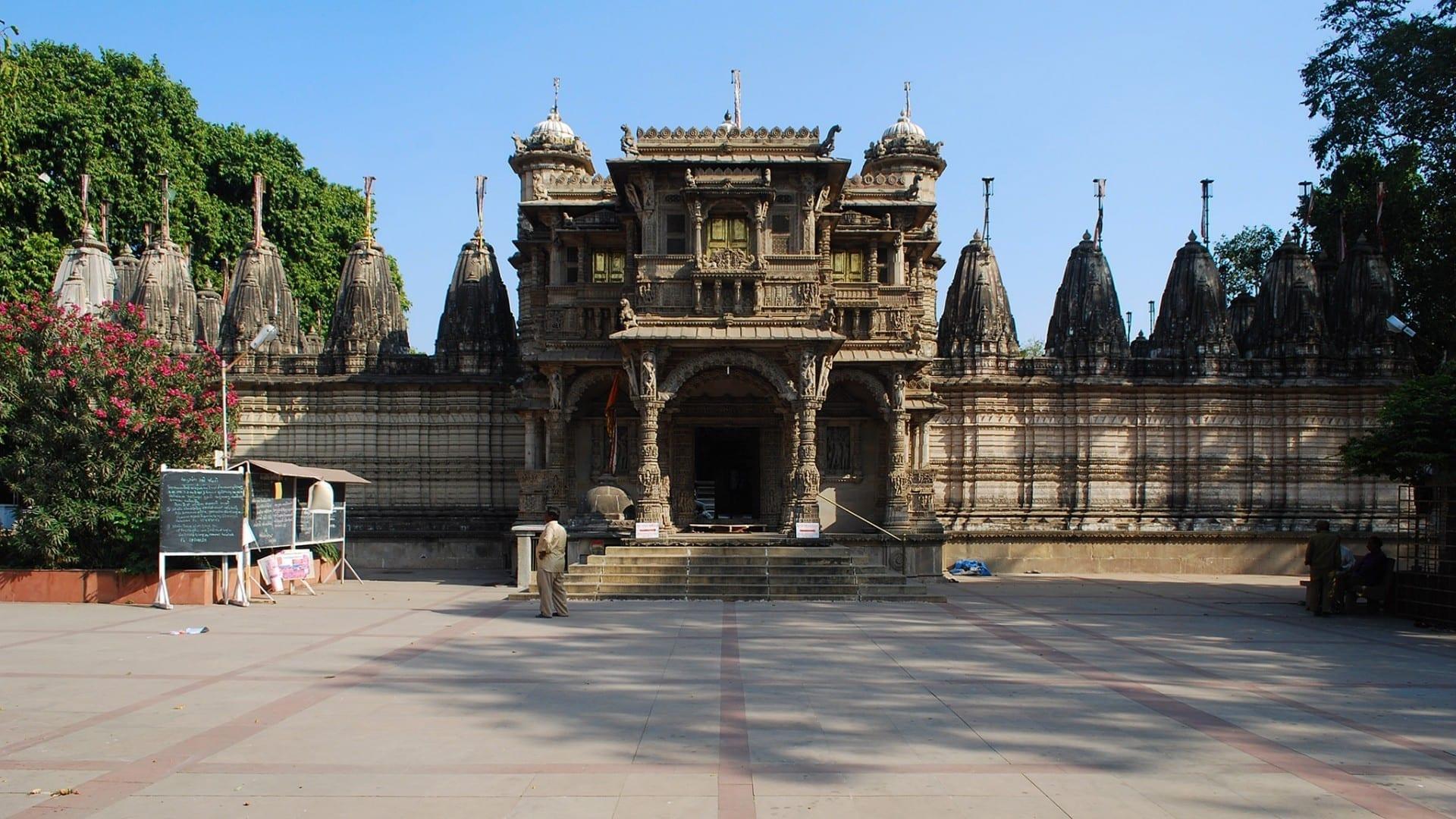 Templo Hathi Singh Jain Ahmedabad India