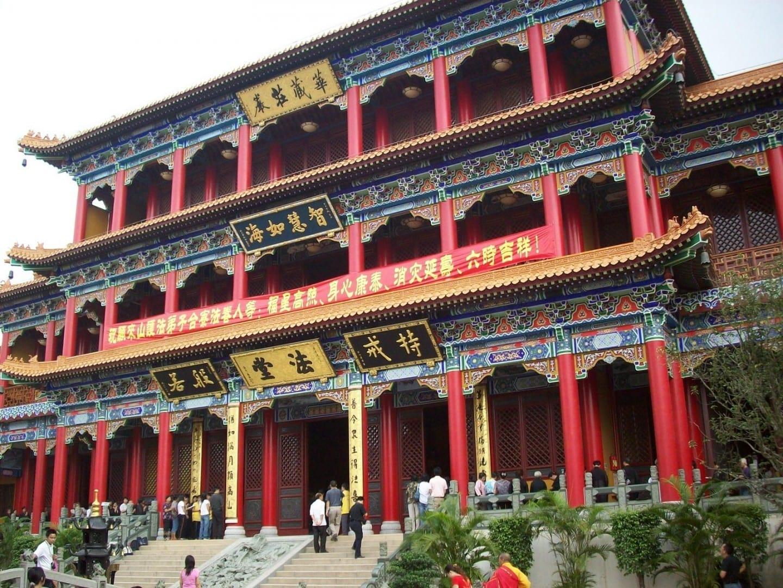Templo Jintai en Doumen Zhuhai, Macao China