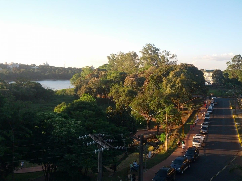 The Lago de la República Ciudad del Este Paraguay