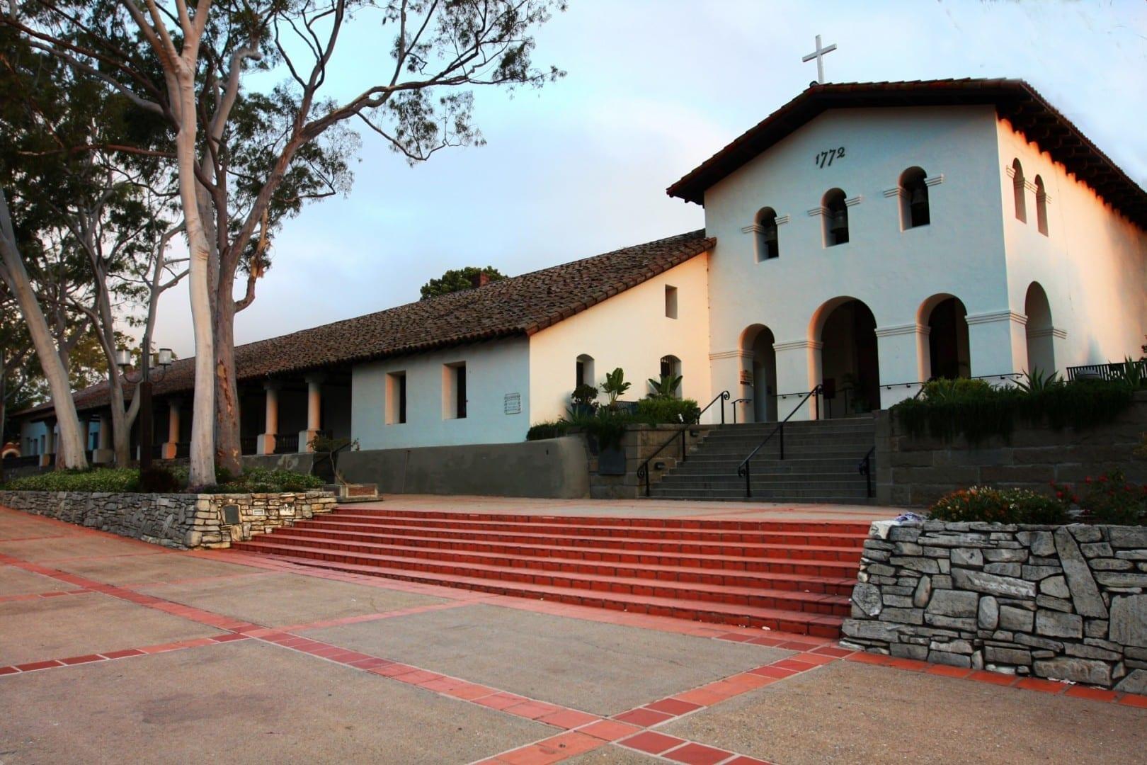 The Mission San Luis Obispo de Tolosa. San Luis Obispo CA Estados Unidos