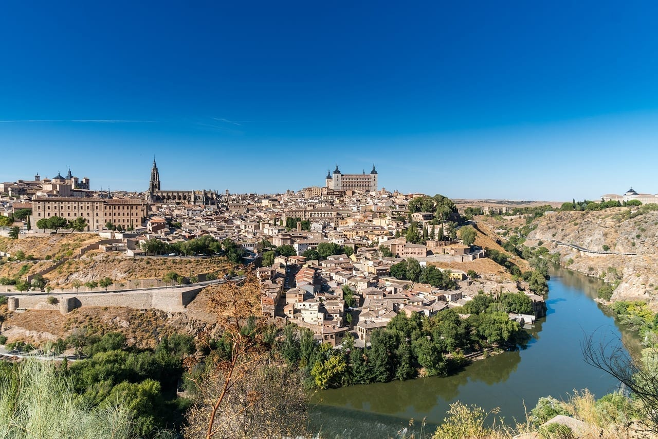 Toledo España De Viaje España