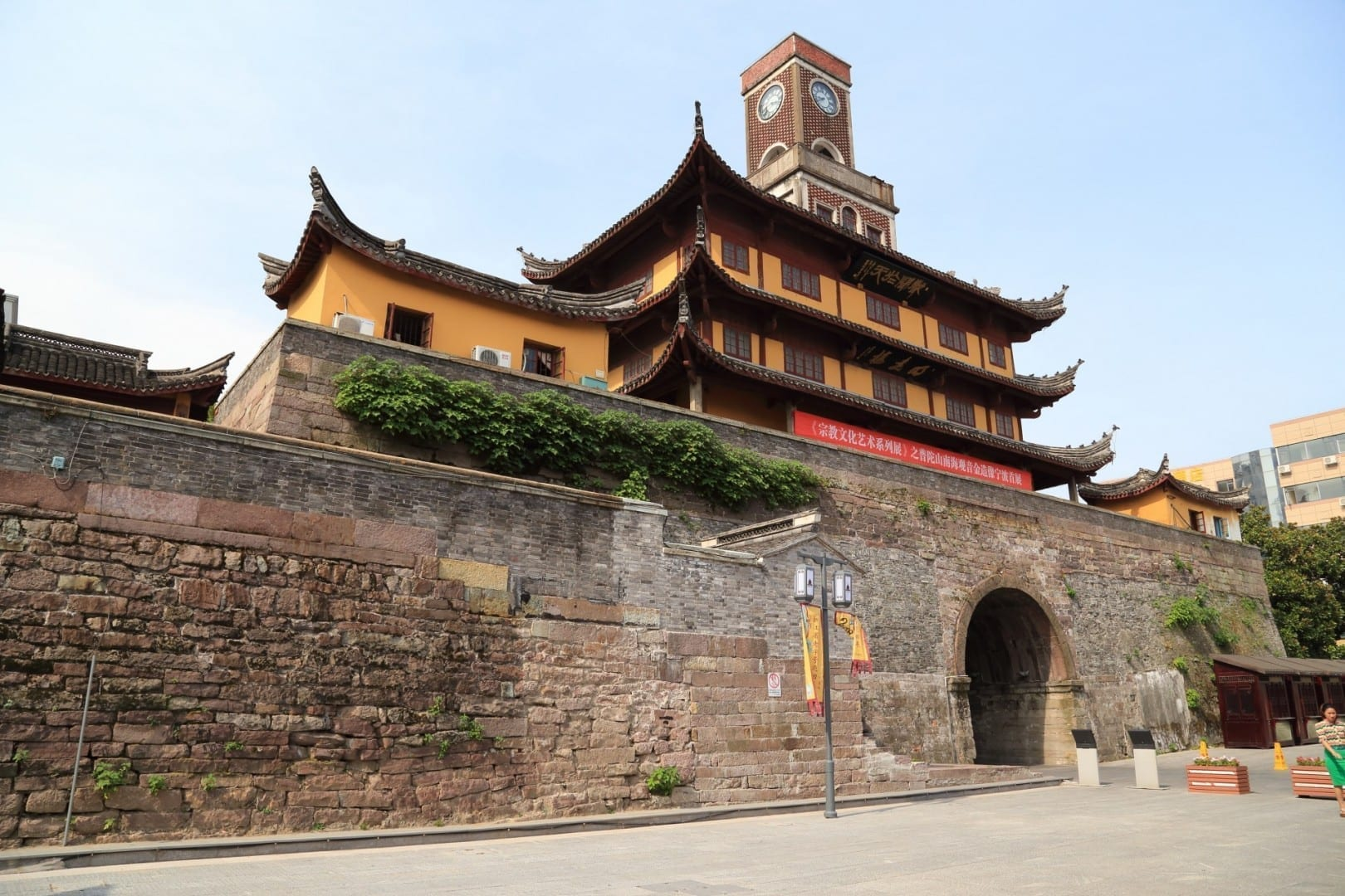 Torre de tambores de Ningbo Ningbo China
