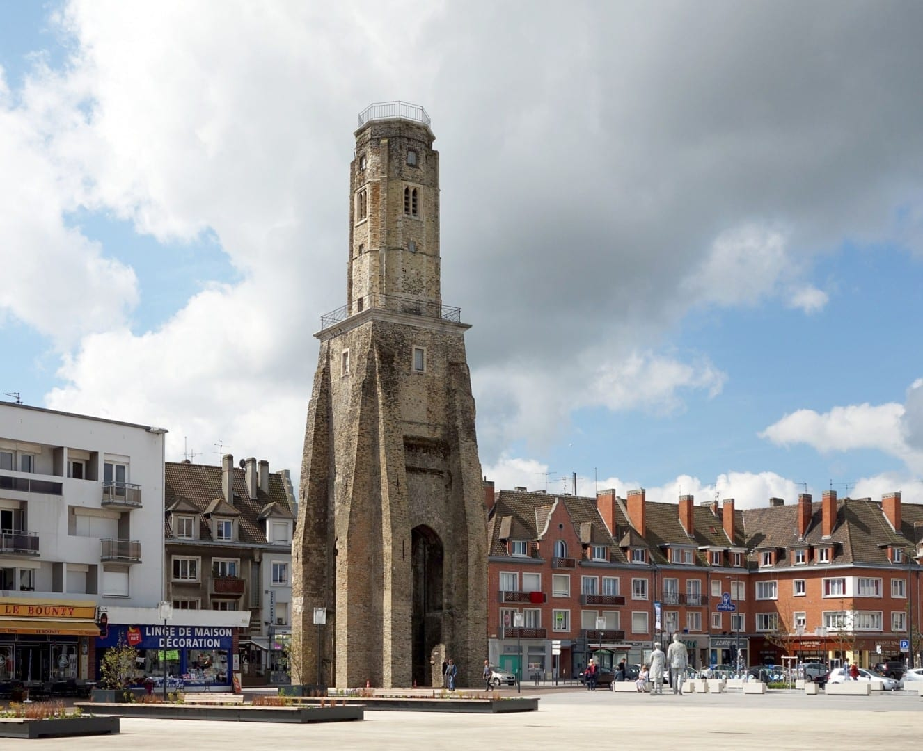 Torre de vigilancia Calais Francia