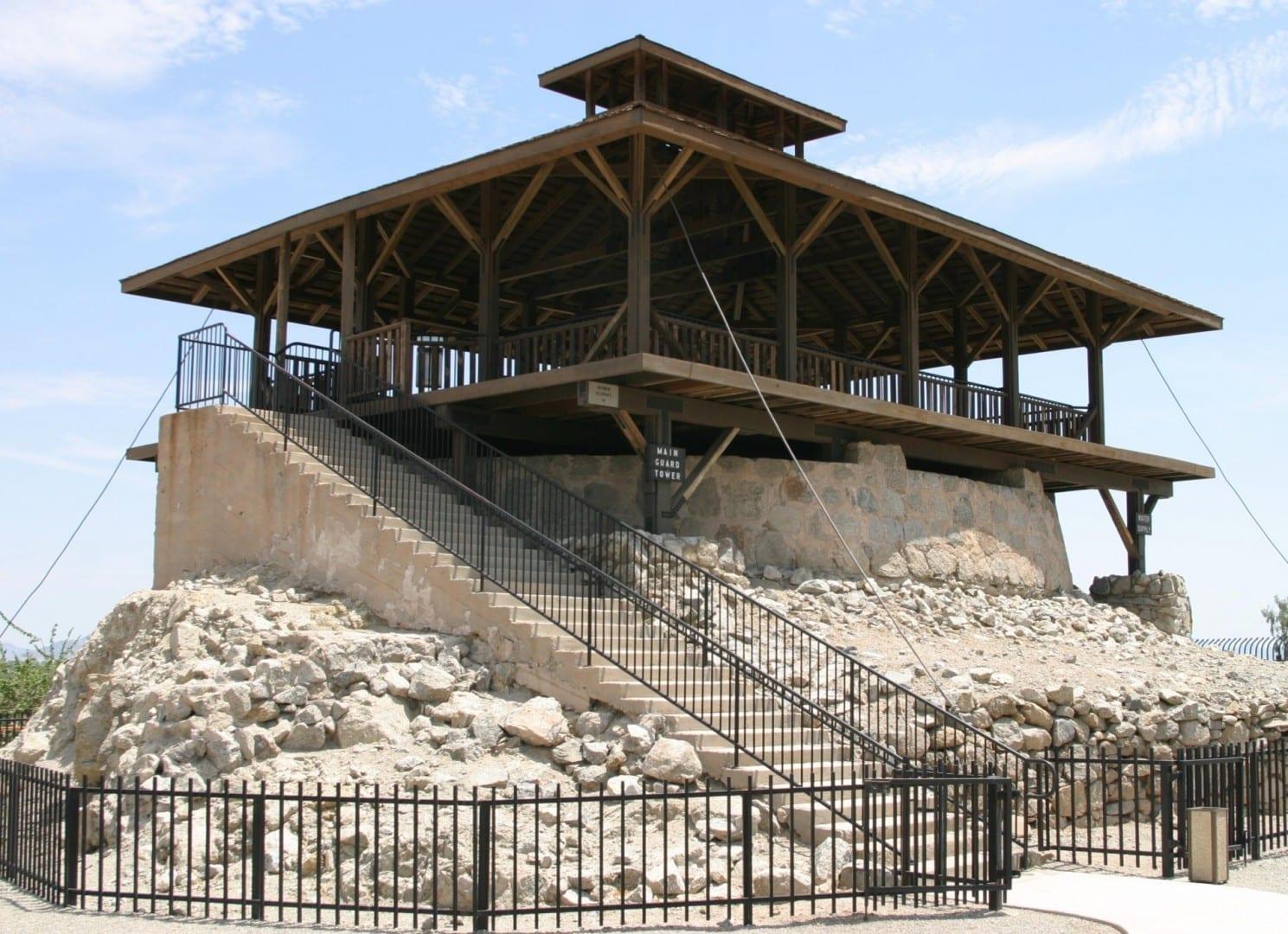 Torre de vigilancia en el Parque de la Prisión Territorial de Yuma Yuma AZ Estados Unidos