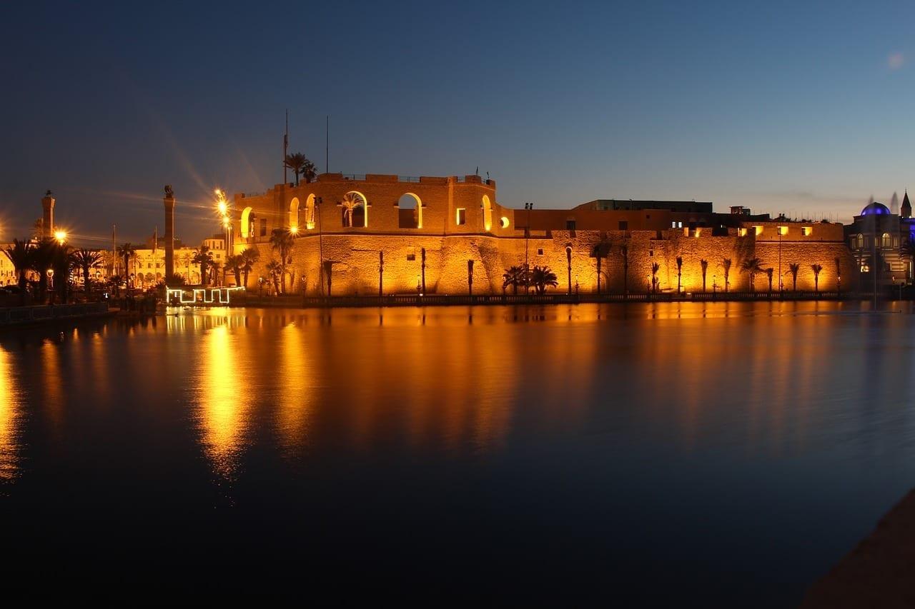 Trípoli Libia Ciudad Libia