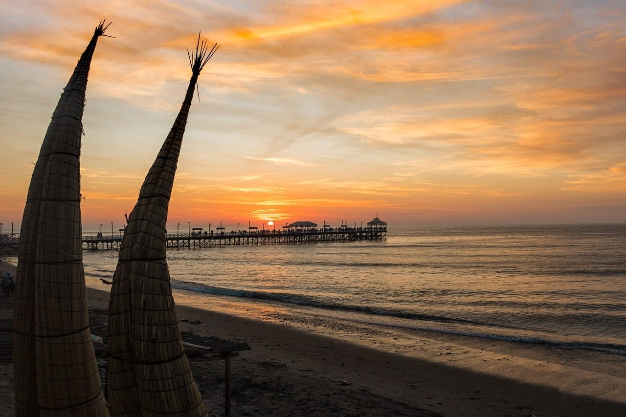 Trujillo Huanchaco Playa Perú
