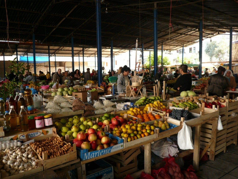 Ulcinj, Mercado Ulcinj Montenegro