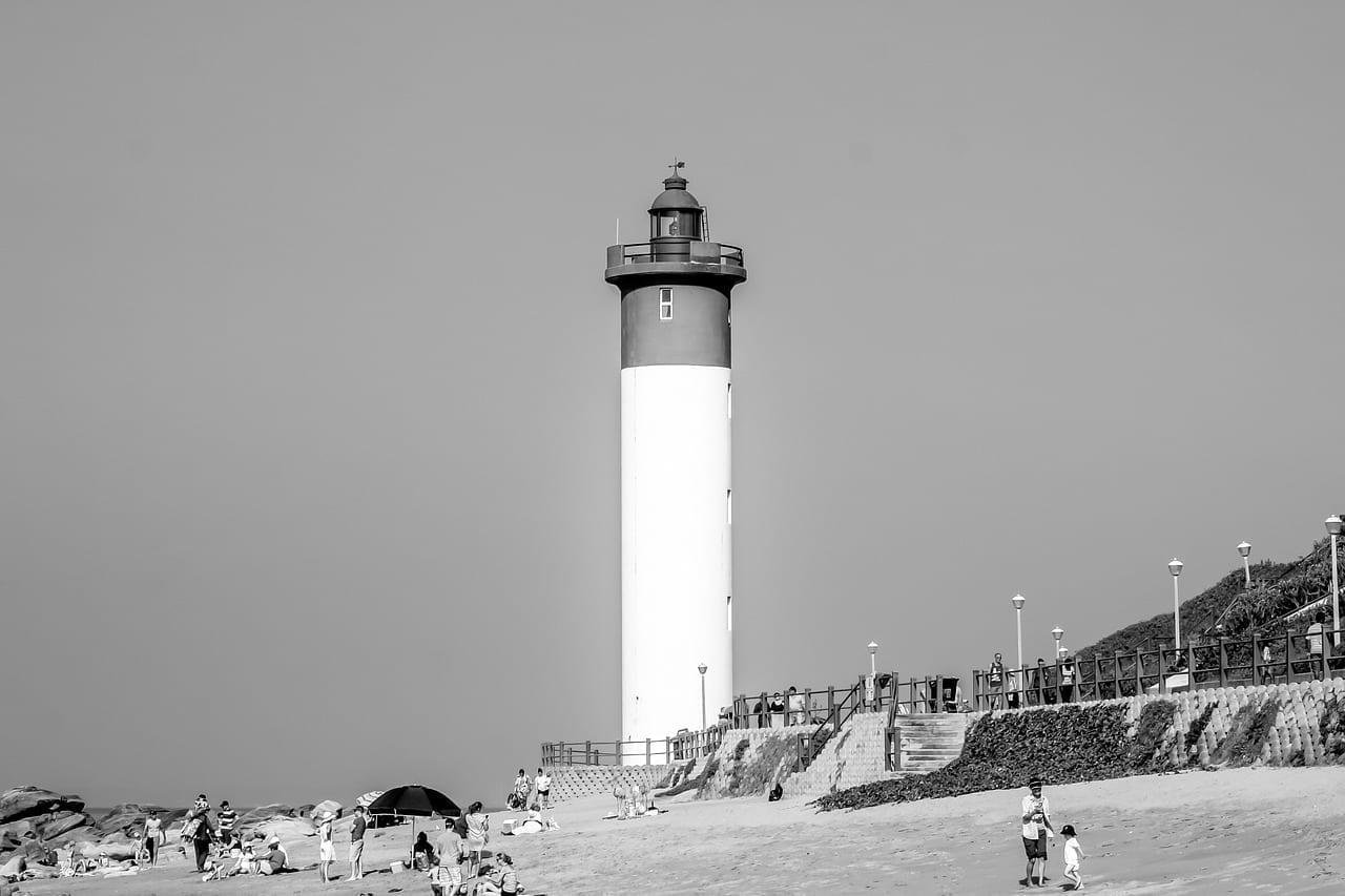 Umhlanga Durban Playa Mar República de Sudáfrica