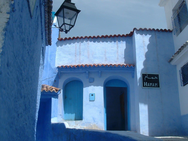 Un hammam en Chefchaouen Chauen Marruecos