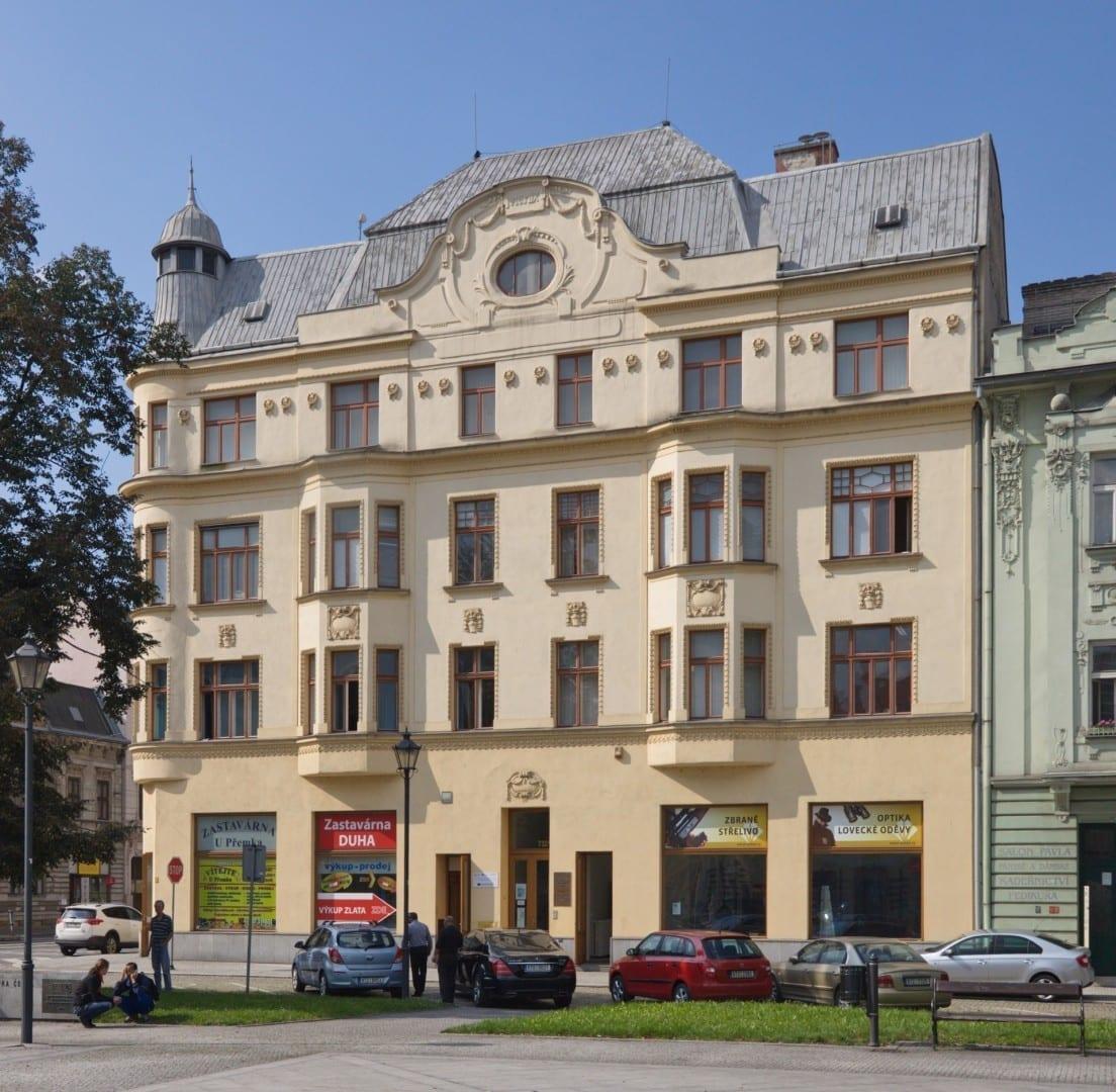 Una casa en el vecindario Přívoz Ostrava República Checa
