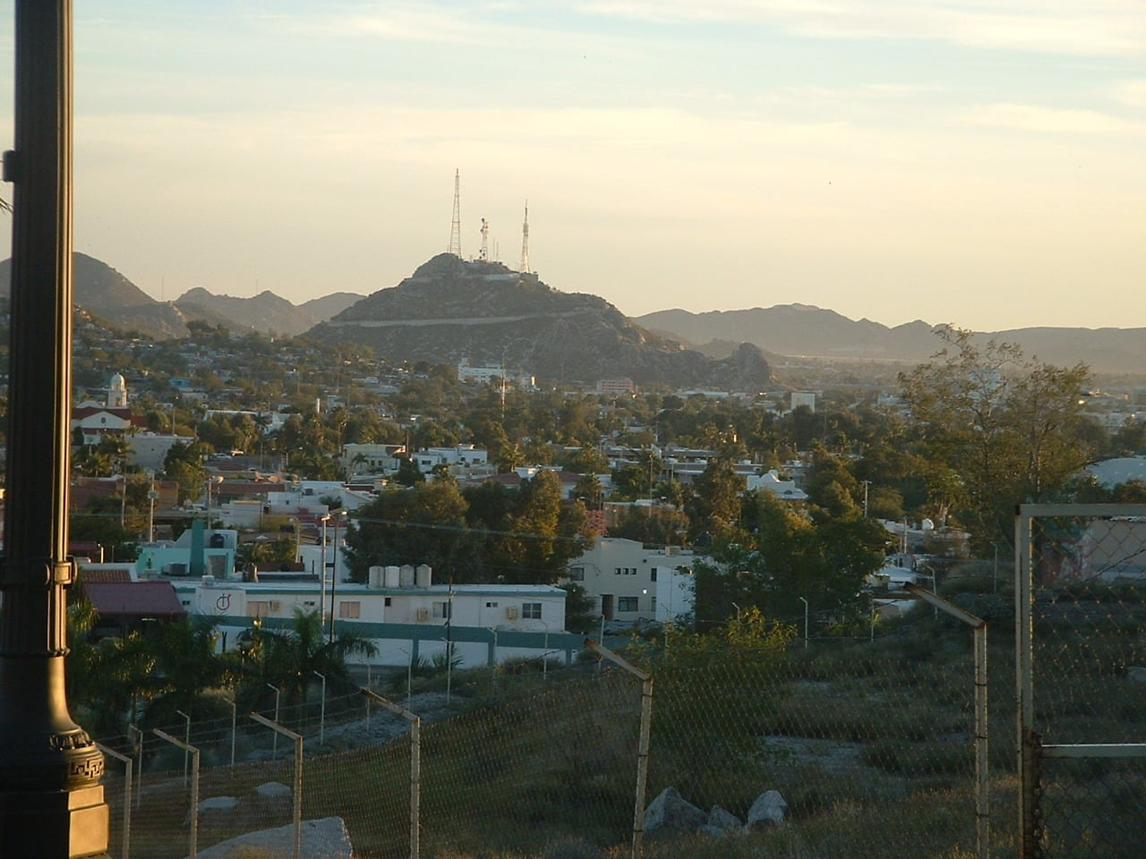 Una vista de Hermosillo desde la urbanización