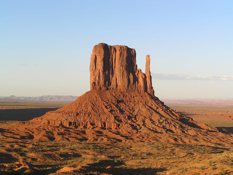 Uno de los guantes de Monument Valley Monument Valley Parque Nacional UT Estados Unidos