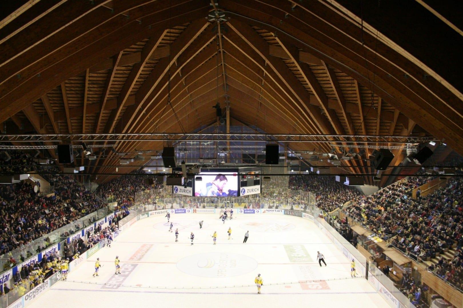 Valiant Arena Davos Suiza