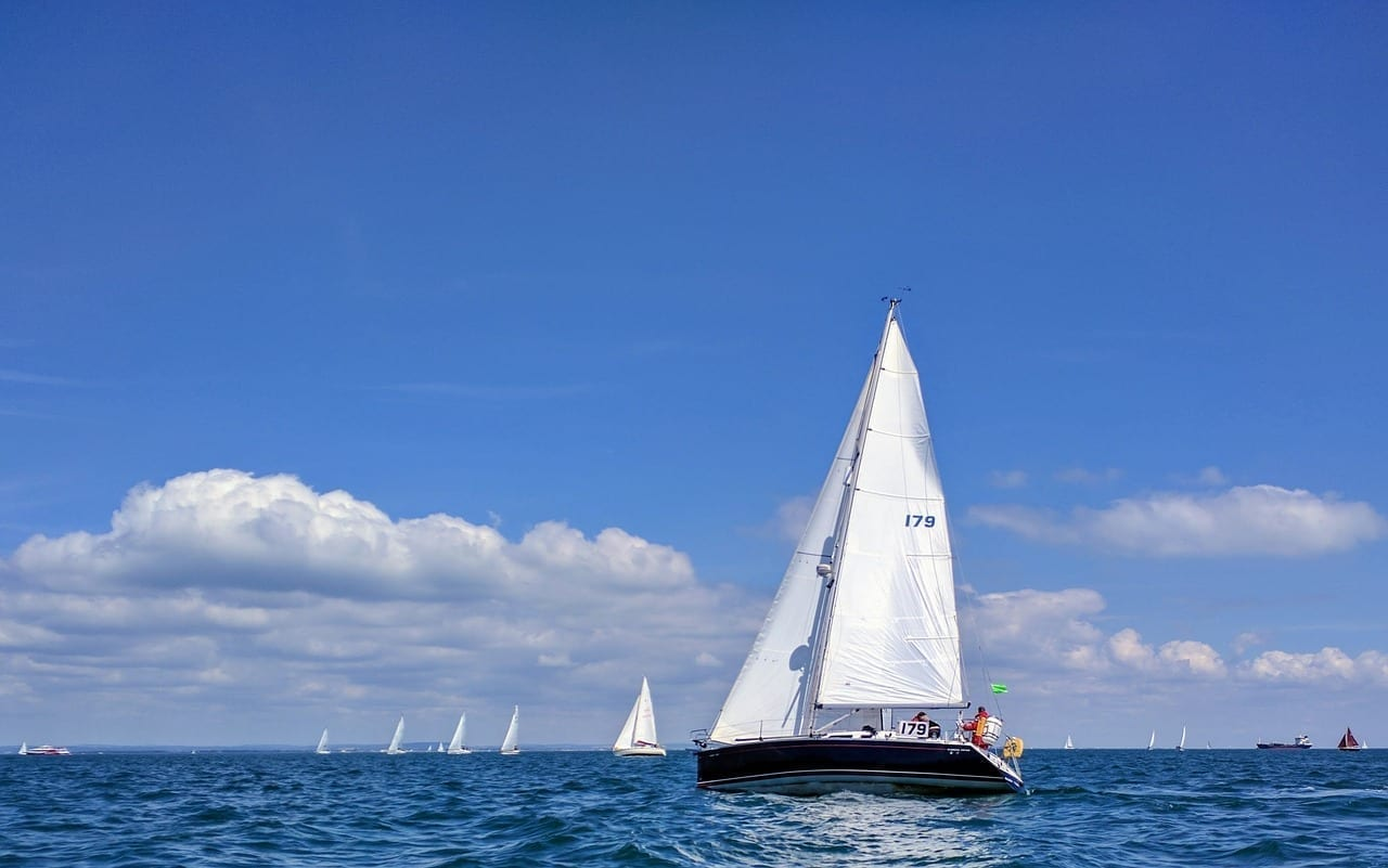 Vela Carreras Isla De Wight Reino Unido