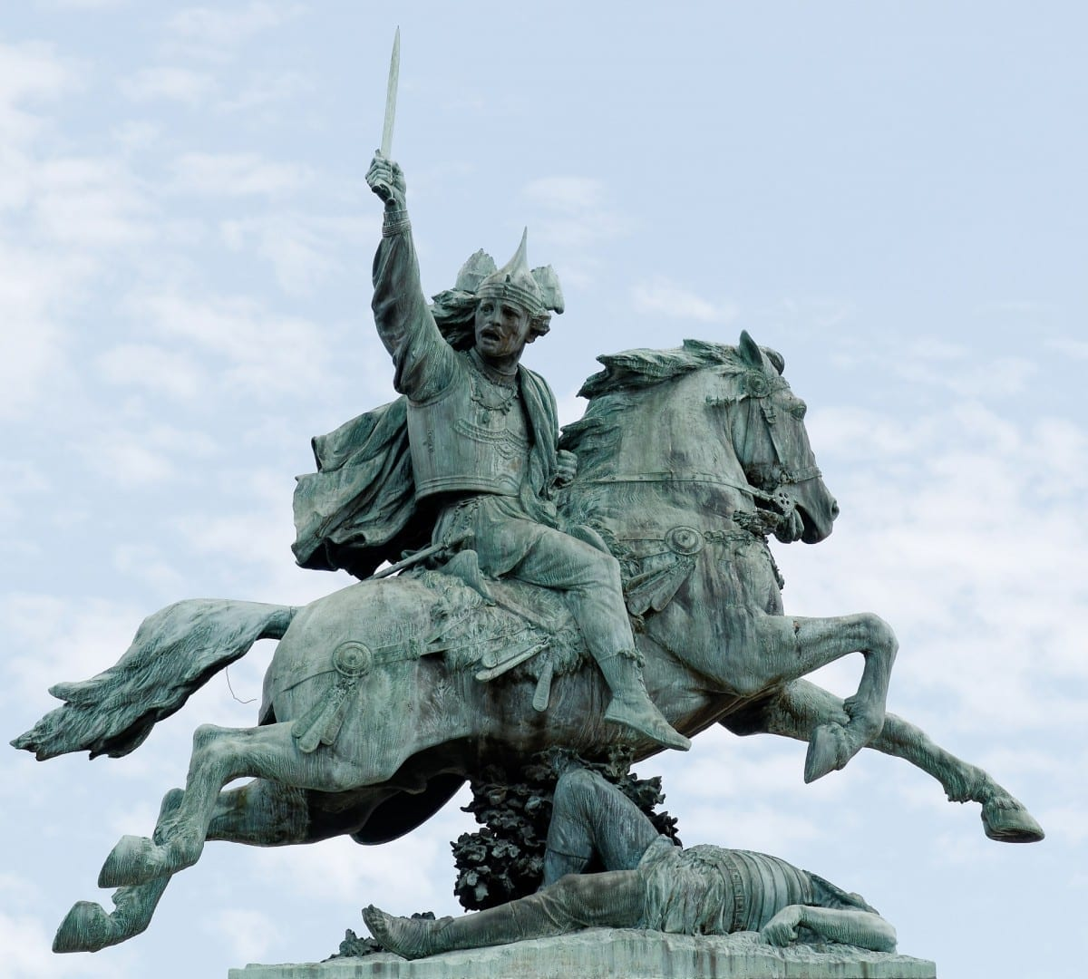 Vercingetorix el líder galo Clermont-Ferrand Francia