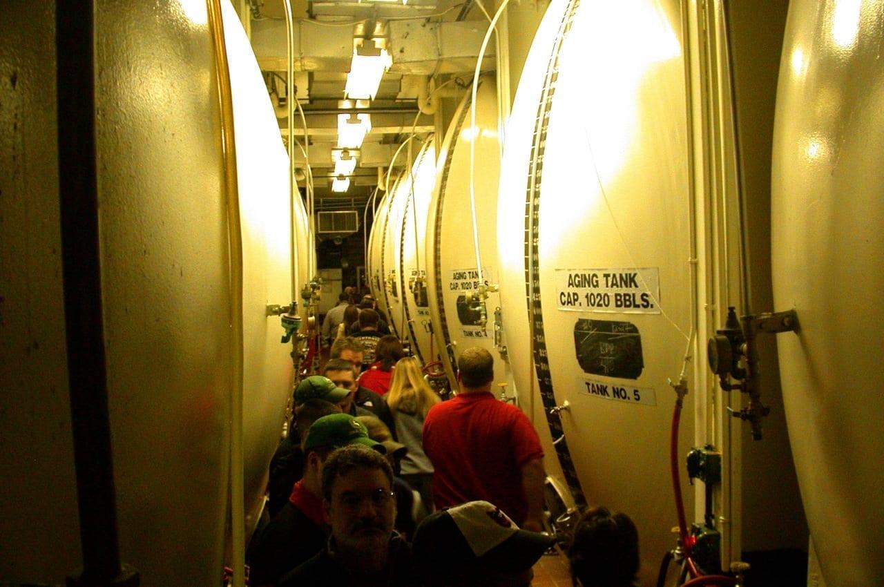 Visita a la fábrica de cerveza Saranac Utica NY Estados Unidos