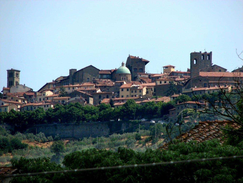 Vista de Cortona Cortona Italia
