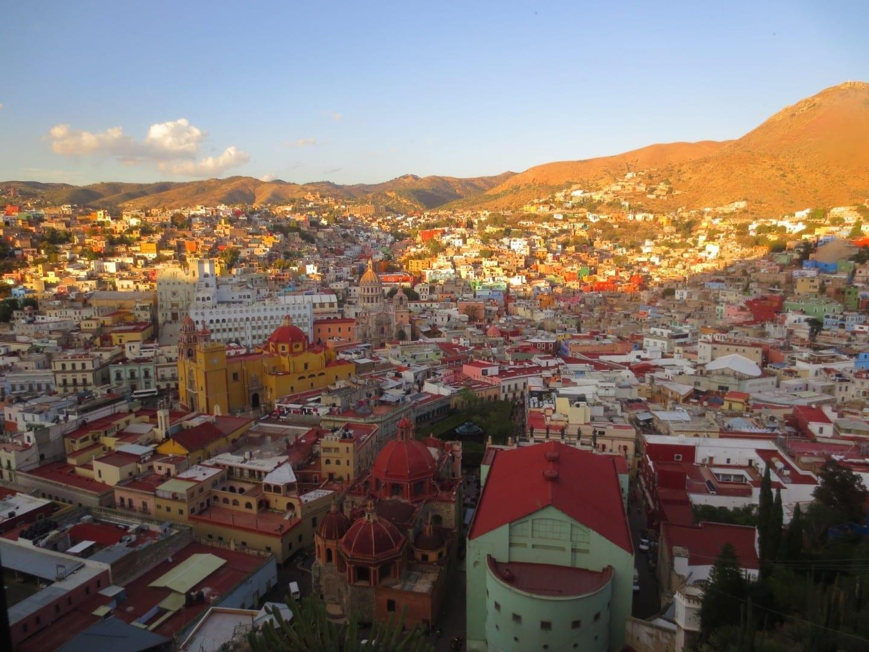 Vista de Guanajuato Guanajuato México