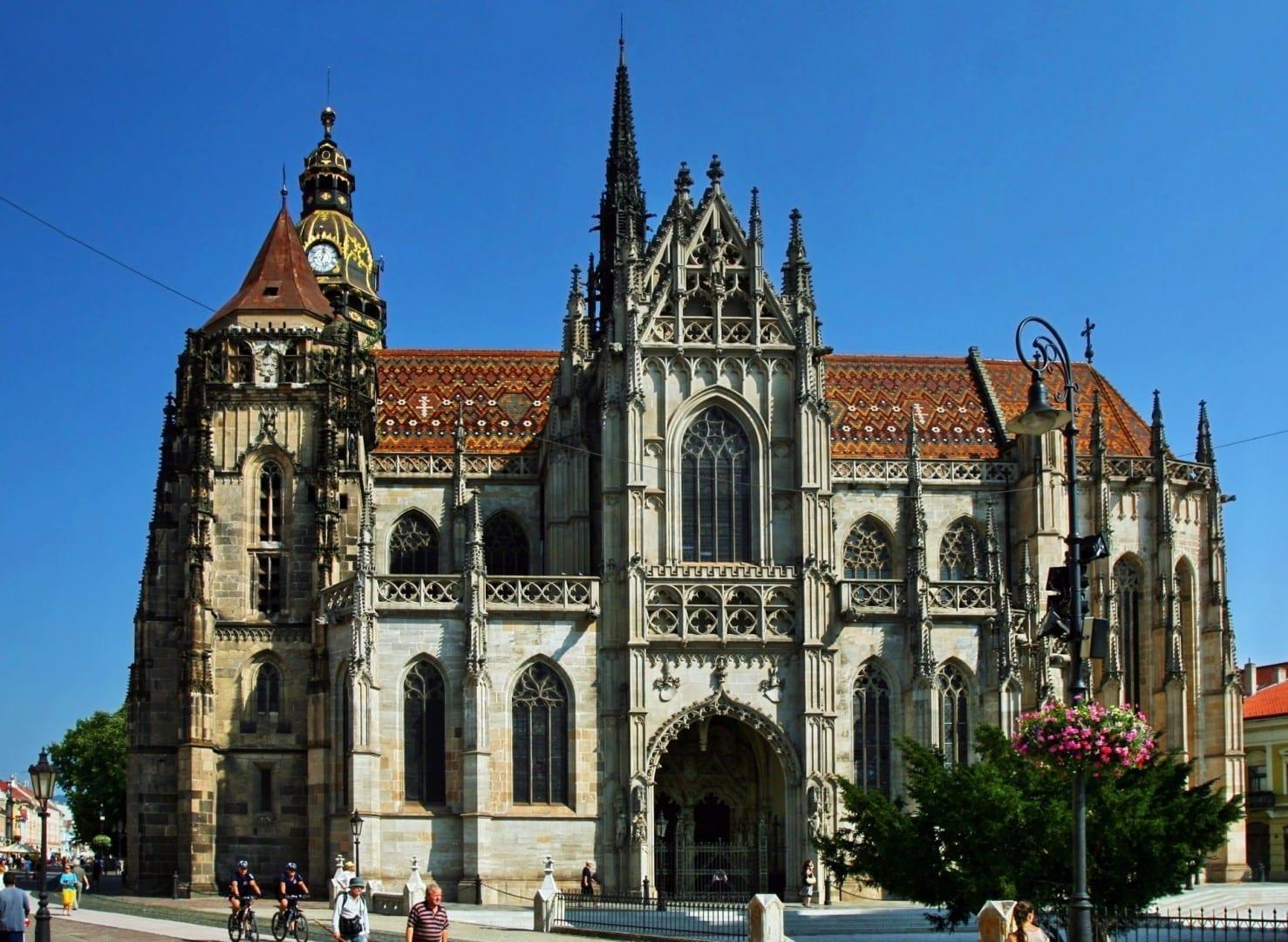 Vista de la catedral desde el sur Košice República Eslovaca