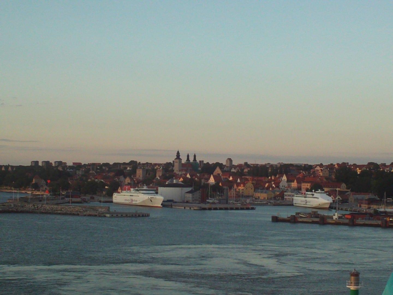 Vista de la ciudad de Visby Visby Suecia