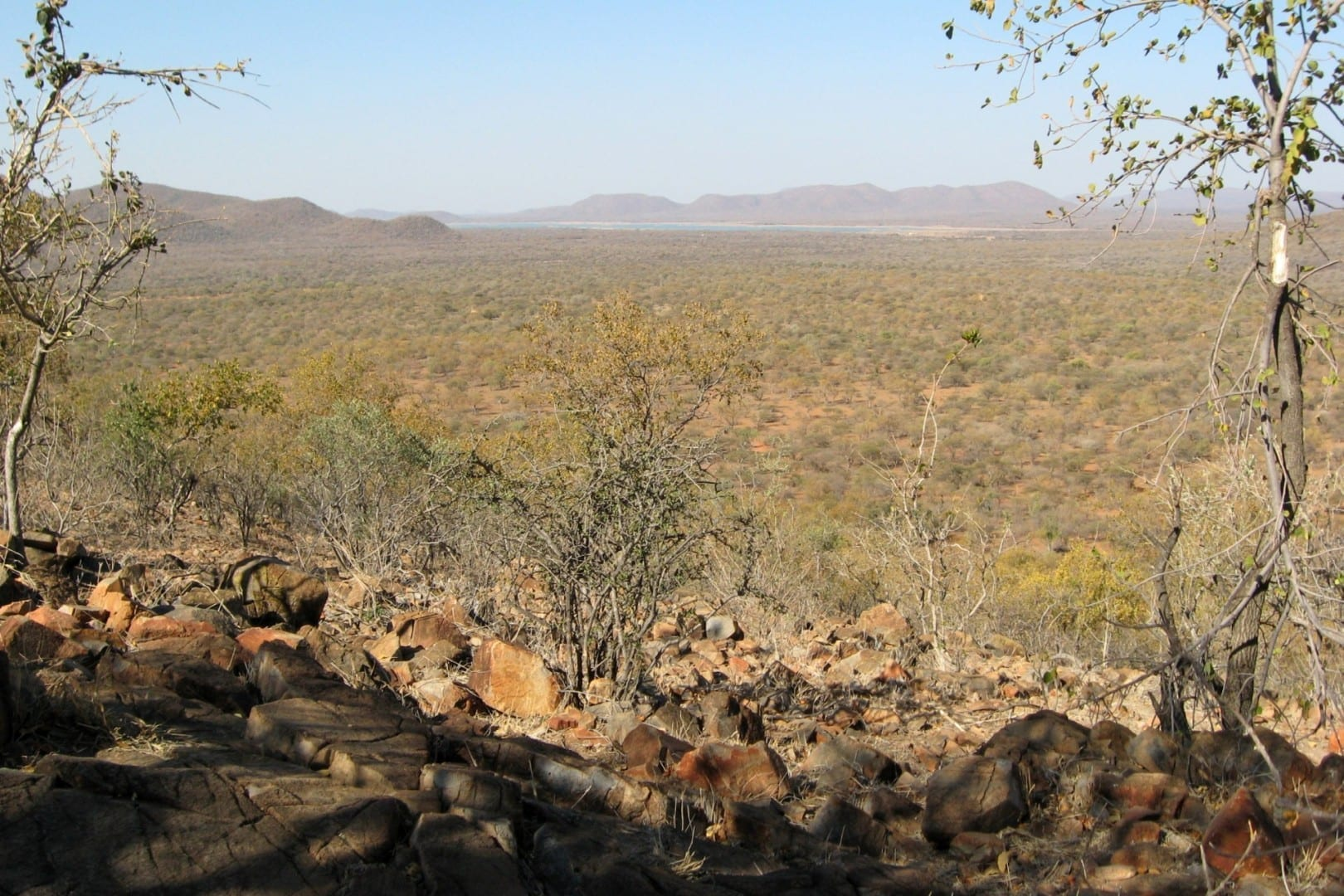 Vista de la Reserva Natural de Mokolodi Gaborone Botswana