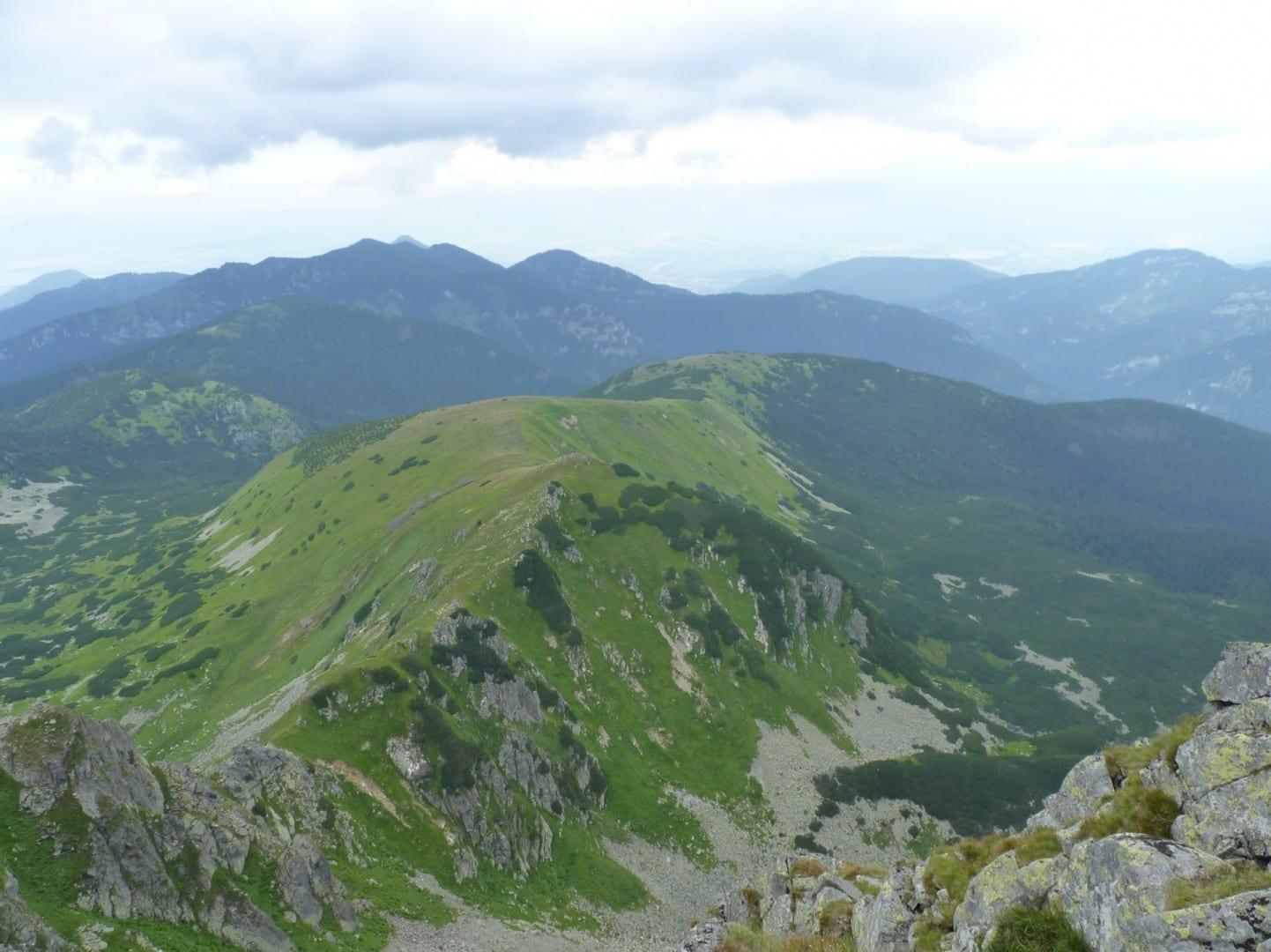 Vista de los Tatras Bajos Low Tatras República Eslovaca
