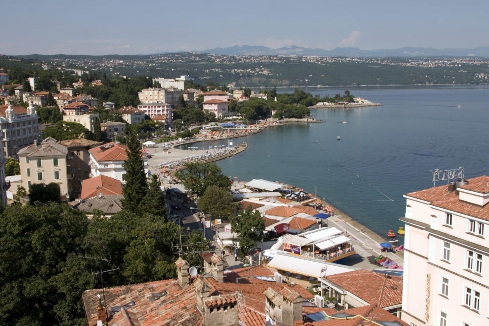 Vista de Opatija Opatija Croacia