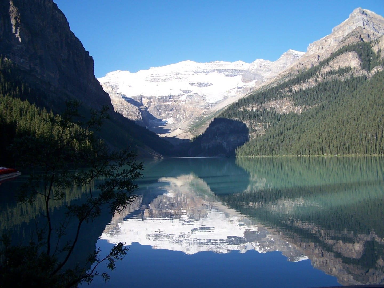 Vista del lago Lake Louise Canadá